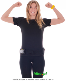 damska koszulka Craft Active Run Tee czarna