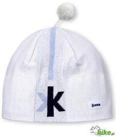 wiatroszczelna czapka Kama AW14 biała