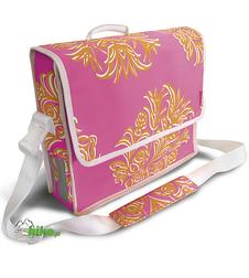 torba/sakwa rowerowa Basil Blossom Postmenbag różowa