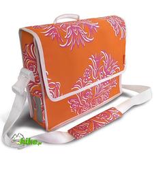 torba/sakwa rowerowa Basil Blossom Postmenbag pomarańczowa