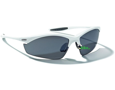 okulary rowerowe Alpina Tri-Effect White Matt