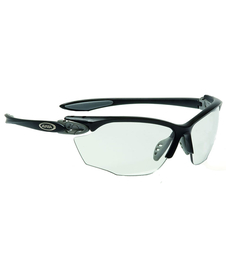 okulary rowerowe Alpina Twist Four VL+ Black/Grey Matt