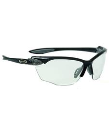 okulary rowerowe Alpina Twist Four VL+ Black/Grey Matt