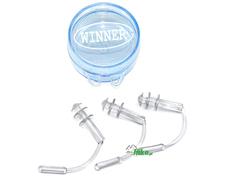 zatyczki do uszu gWinner Ear Plug 8 białe - 2 szt.