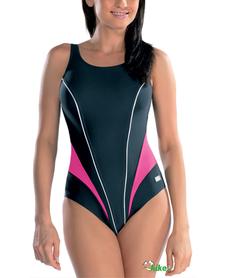 kostium kąpielowy gWinner Laila IV czarny/róż