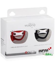 zestaw oświetleniowy Infini Wukong czarno-czerwony
