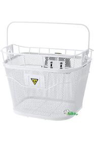 przedni kosz rowerowy Topeak Front Basket biały