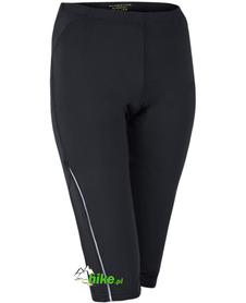 damskie spodnie 2/3 Pure Lime Running Capri czarne