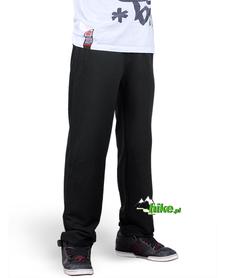 ocieplane męskie spodnie Gregor w kolorze czarnym