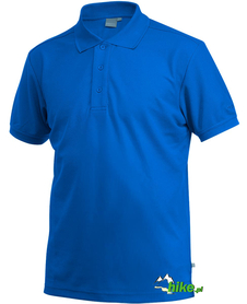 męska koszulka polo Craft Pique niebieska