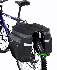 sakwa dwukomorowa na bagażnik Sport Arsenal art.460