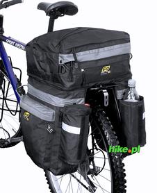 sakwa trzykomorowa na bagażnik Sport Arsenal art.465