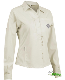 damska koszula trekkingowa Milo Yon Lady kremowa