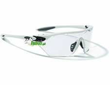 okulary sportowe Alpina Twist Four Shield VL+ white/black