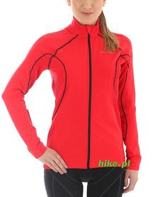 damska bluza z membraną Brubeck czerwona