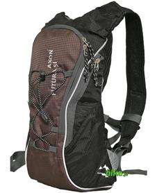 plecak rowerowy Axon Futura 5 Ultralight czarno-brązowy