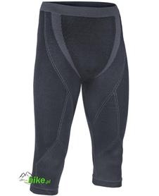 męskie spodnie 3/4 Brubeck Extreme Merino czarne