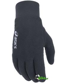 ocieplane rękawiczki Asics Fleece Gloves czarne
