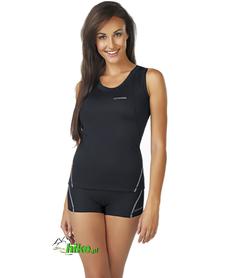 damska koszulka na ramiączkach gWinner Classic X czarna