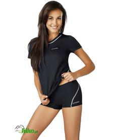 damska koszulka termoaktywna gWinner Classic IX czarna