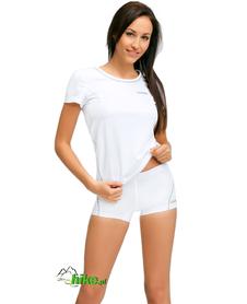 damska koszulka termoaktywna gWinner Classic IX biała
