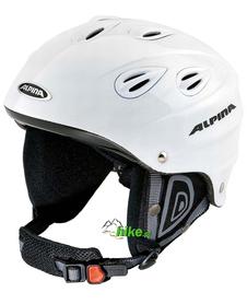 kask narciarski / snowboardowy Alpina Junta biały