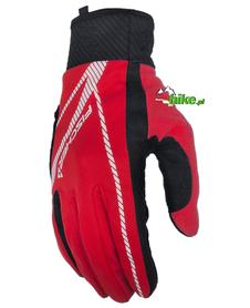 rękawiczki zimowe Fischer Touring czerwone