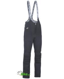 piankowe spodnie narciarskie Berkner Piro czarne