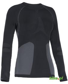damska koszulka termoaktywna Odlo Evolution Warm czarna