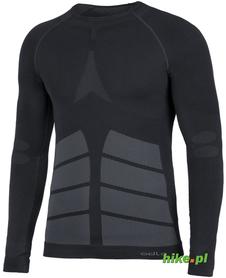 męska koszulka termoaktywna Odlo Evolution Warm czarna
