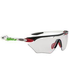 okulary rowerowe Alpina Twist Four Shield VL+ black/red/white