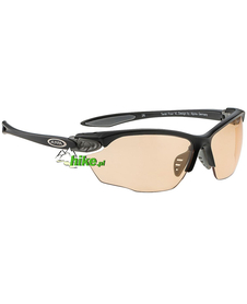 okulary sportowe Alpina Twist Four VL+ black/grey