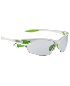 okulary sportowe Alpina Twist Four VL+ white/green