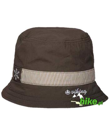 damski kapelusz Viking Roca brązowy