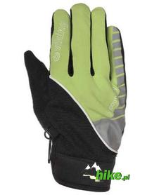 rękawiczki sportowe Viking X-Country czarno-zielone