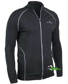męska bluza z membraną Brubeck Bicycle czarna