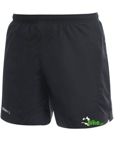 męskie szorty do biegania Craft Active Run Shorts czarne