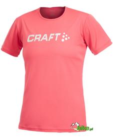 koszulka na maraton damska Craft Logo - różne kolory - możliwość nadruku