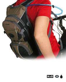plecak rowerowy Axon Poppet 8 l brązowy