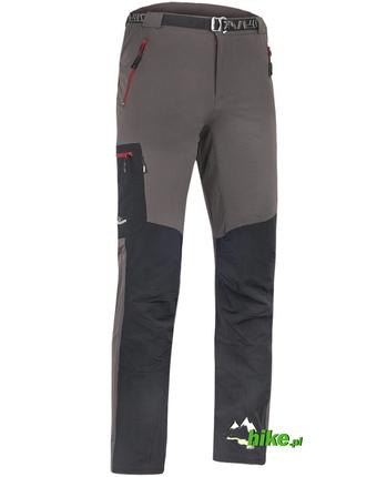 męskie spodnie Milo Vino szaro-czarne