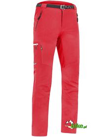 męskie spodnie Milo Vino czerwone