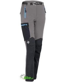 damskie spodnie Milo Vino szaro-czarne