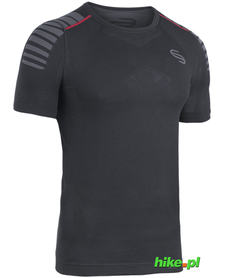 męska koszulka Brubeck Fitness Impulse czarna