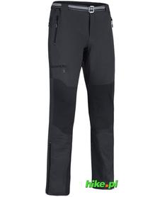 męskie spodnie trekkingowe Milo Brenta czarne