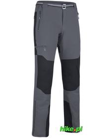 męskie spodnie trekkingowe Milo Brenta szare