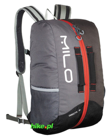 plecak Milo Directe 30 szary/czerwony