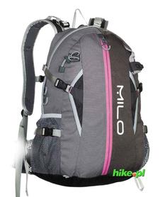 plecak Milo Toget 30 szary/różowy