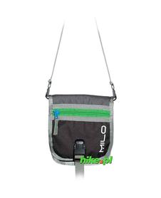 portfel na szyję Milo Mongo 2013 szary/zielony