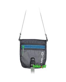 portfel na szyję Milo Mongo 2013 szary/niebieski