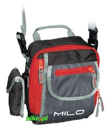 torba na ramię Milo Taro szara/czerwona